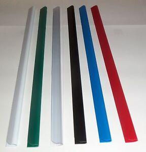 Slide Binders/Spine Bars Size 6mm  x 297mm in  (40 Sheet Capacity) FREE P&P