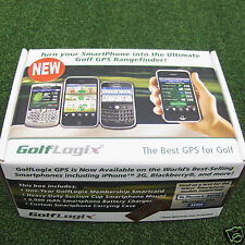 GolfLogix GPS Smartphone iPhone Blackberry Gift Set Golf Logix  - NEW