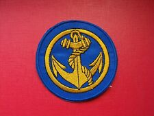 insigne tissu militaire armée écusson patch badge Troupes de Marine TDM army
