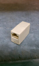 10 X RJ45 CAT5 Network Cable Connector Adapter Coupler