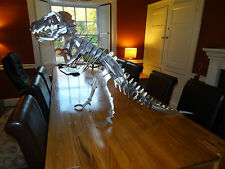 T-Rex Tyrannosaurus Large Metal steel dinosaur kit/model/ornament/garden/puzzle