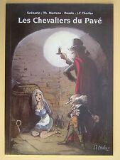 MARTENS /CHARLES Les chevaliers du pavé ( Point Image India Dreams ) 1000 ex