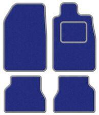 Suzuki Samurai/Santana/SJ 410 Super Velour Blue/Grey Leather Trim Car mat set