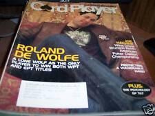 Card Player Magazine 2/6/2007 Roland DeWolfe