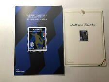 2021 Folder + Bollettino Inter FC Internazionale Campione d'Italia 2020/21
