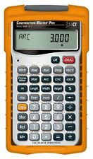 NEW CALCULATED INDUSTRIES 4065 MASTER PRO CONSTRUCTION PROJECT CALCULATOR