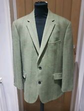 SCOPES MENS TRADITIONAL COUNTRY STYLE TWEED PURE WOOL BLAZER/JACKET UK 48 S VGC
