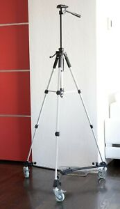 Digital Concepts Tripod and Dolly for Camera Photo Video w/ Carrying Cases
