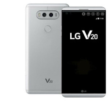 LG V20 H910A - 64GB - Silver (AT&T + GSM UNLOCKED) Smartphone - NEW INBOX