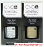 CND Shellac Bundle Base Coat and Top Coat 7.3ml UV Gel Nail Polish (New)
