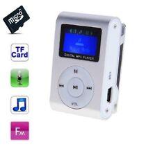 Lecteur MP3 8 Go - à carte mémoire - clip ceinture - Ecran LCD - Radio FM