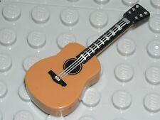 LEGO Medium Dark Flesh Guitar Acoustic Serenader Minifigure Tool Accessory 71013