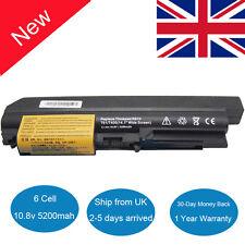 "Laptop Battery fo Lenovo IBM Thinkpad R400 T400 T61 R61 R61i 14.1"" widescreen UK"