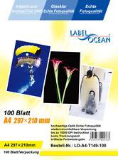 100 Bl.A4 Overheadfolien Overhead OHP Folie Inkjet/Laser von LabelOcean (R)