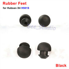 4pcs/set Black Rubber Feet for Hubsan H501S X4 RC Quadcopter Spare Parts H109-04