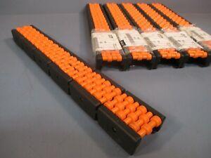 "System Plast Roller Conveyor 2"" Wide (Lot of 6) 16600"