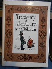 Treasury of Literature for Children HC/DJ many of the old standard stories Illus