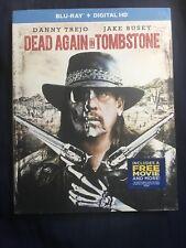 Dead Again in Tombstone Blu-ray + Digital 2017 New 1st Class Shipping Trejo