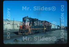 Original Slide Texas-Mexican Railway GP9 853 Action Laredo TX 1987