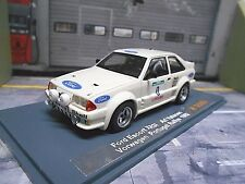 FORD Escort RS 1700T 1700 Turbo XR3 Rallye Test Vatanen 1982 Gr.B UMBAU NEO 1:43