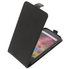 étui pour Archos 50 POWER à Clapet Housse portable COQUE HOUSSE FLIP CASE Noir