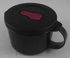 Tupperware Crystal wave tasse gobelet micro-ondes vaisselle 460 ML Noir Neuf emballage d'origine