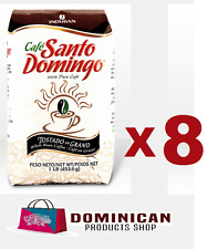 8 pound CAFE Santo Domingo toasted whole bean best Dominican coffee 100%  EUROP
