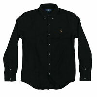 Polo Ralph Lauren Mens Buttondown Knit Oxford Pony Logo Collar Top New Nwt M L