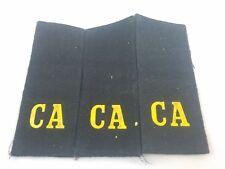 Vintage Soviet Army Shoulder Boards,CCCP,USSR,Original,Uniform,CA,Black,Officer