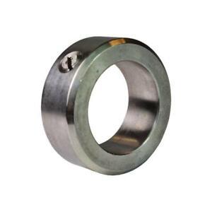 Stellring Stellringe DIN705 Edelstahl Rostfrei 1.4305 + Gewindestift Alle Größen