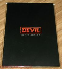 SUPER JUNIOR DEVIL SMTOWN COEX Artium SUM OFFICIAL GOODS POSTCARD SET SEALED