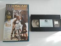 LA VIDA ES BELLA VHS COLECCIONISTA EDICION ESPAÑOLA ROBERTO BENIGNI