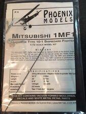 VINTAGE PHOENIX 1/72 MITSUBISHI 1MF-1 (TYPE 10-1) VACFORM W/METAL DETAILS !!