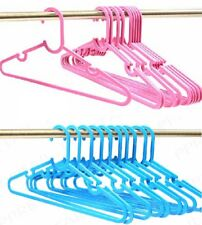 Kids Clothes Hangers, Childrens Coat Clothing,Girls Boys Toddlers Baby Pink Blue