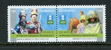 X406 Guatemala 2006 Relations with Brazil pair MNH