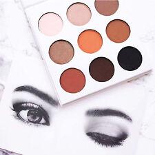 HOT Charming 9 Color Matte Eyeshadow Palette Cosmetic Makeup Eye Shadow Tool Set