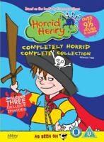 Nuovo Horrid Henry - Completely Horrid Collezione Completa - Serie 2 DVD
