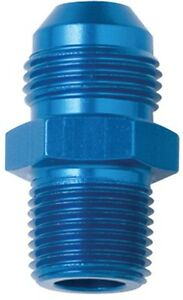 Fragola 481611 Straight Aluminum Male -10 AN to Male 3/8 in. NPT AN to Pipe