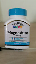 Magnésium,  250 mg, 110 Comprimés (1 par jour)