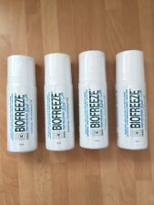 BIOFREEZE PAIN RELIEF ROLL-ON 89ML x 4 UNITS - Expiry Date 07/19