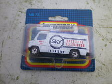 MATCHBOX 1990 MB 73 MERCEDES TV NEWS SKY état Neuf boite jamais ouverte scellée