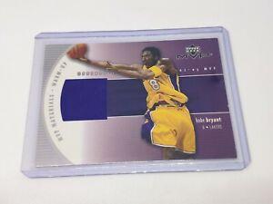 2002-03 Upper Deck MVP Materials Warm Up Authentic NBA Worn KOBE BRYANT!!