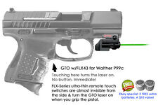 ArmaLaser GTO for Walther P99c GREEN Laser Sight w/ FLX43 Grip Touch Activation