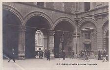 BOLOGNA - Cortile Palazzo Comunale - Foto Cartolina G.Vettori 1922