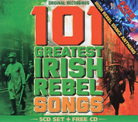 101 Greatest Irish Rebel Anthems (5CD Box Set) + Free Rebel Dance Anthems CD-6CD