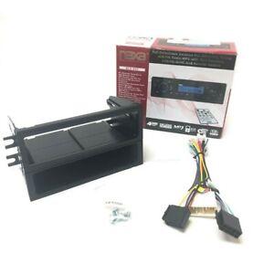 NAXA NCA-602 Detachable Tuning Car Radio Stereo Kit  AM FM MP3 CD