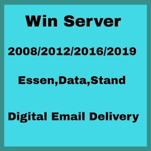 Server 2008/2012/2016/2019 Genuine Product