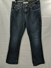 LEVIS Women's Medium Wash Mid Rise Boot Cut  Stretch Jeans size 4 short