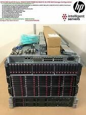 HP DL360p Gen8 HP P2000 G3 server Cluster San 22.2TB 32 Core 64 Thread 256GB RAM