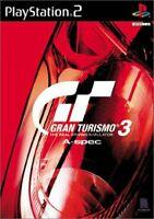 USED PS2 PlayStation 2 Gran Turismo 3 Aspec 50095 JAPAN IMPORT
